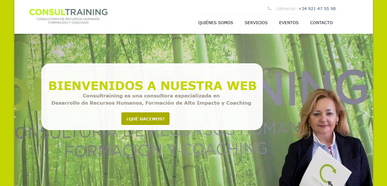 Web de Consultraining
